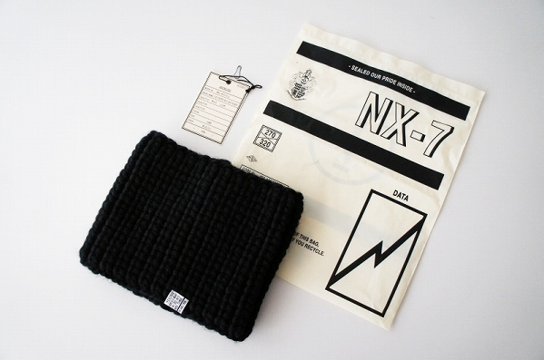 NEXUS VII HAND KNITTED WOOL NECK WARMER