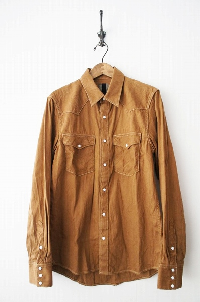 I.C.T SOCIAL SCULPTURE SHIRT ONE WASH