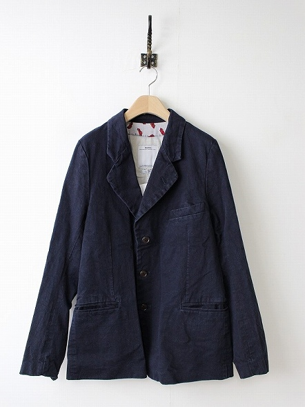 AIRMAN BLAZER (DMGD COTTON/LINEN)