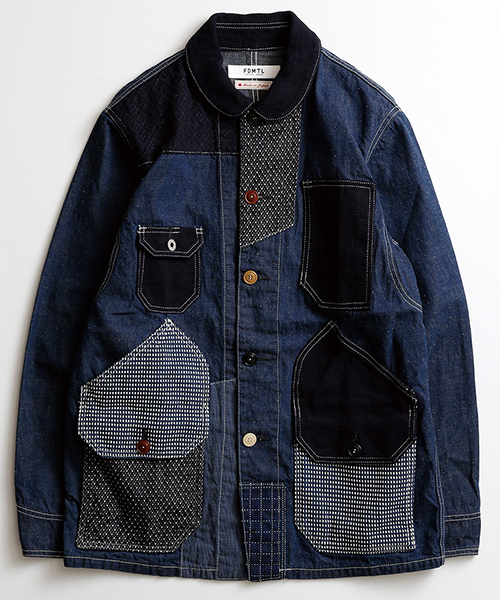 PATCHWORK COVERALL パッチワークカバーオール