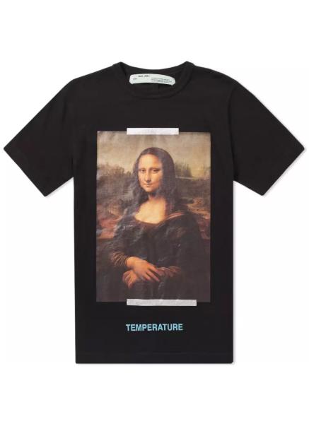 Monalisa Slim Tee モナリザプリントTシャツ
