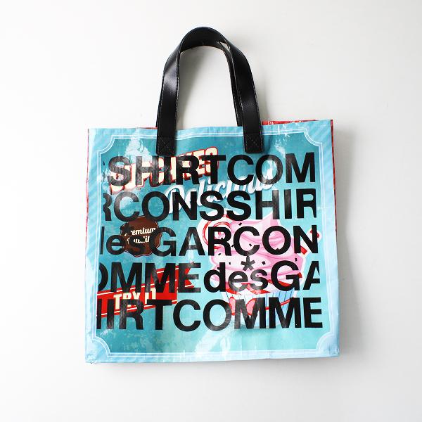 COMME des GARCONS SHIRT コムデギャルソンシャツ ビニール トートバッグ